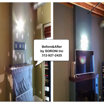 Your Walls Makeover by SORONI Inc